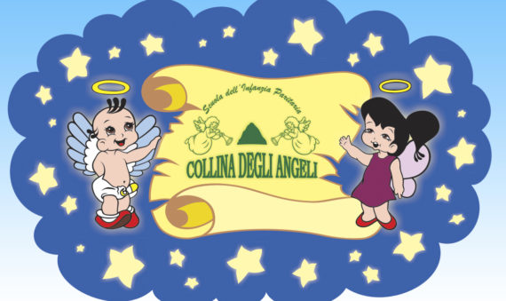 logo della scuola dell'infanzia-asilo nido Collina degli angeli a Reggio Calabria